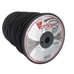 Hilo de nailon 3,00 mm bobina 219 m DESERT Vortex trenzado