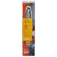 "1702163 Kit espada y cadena motosierra OZAKI 50 cm (20"") X 3/8"" .063""-1,6 mm 72E"
