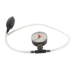 Manómetro para pruebas de carburadores de diafragma y cilindros de motores de 2 tiempos