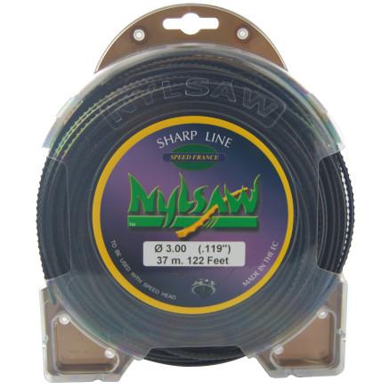 Hilo de nailon 1511022 Blister 37 m 3,00 mm Dentado NYLSAW