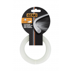 Hilo de nailon 1511520 Blister 15 m 2,00 mm Redondo OZAKI