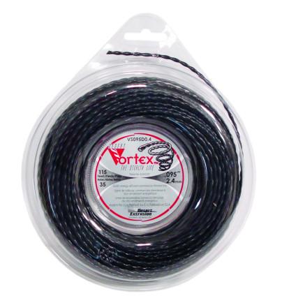 Hilo de nailon 2,40 mm donut 35 m DESERT Vortex trenzado