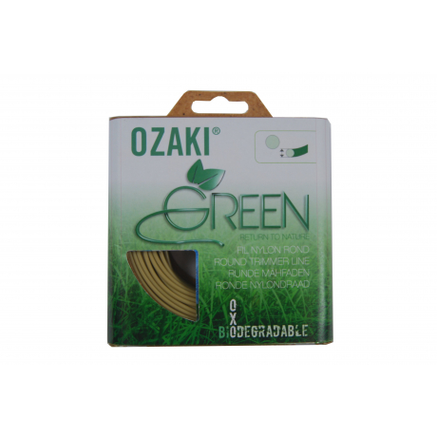 Hilo de nailon 1512804 Blister 15 m 2,40 mm Redondo OZAKI GREEN