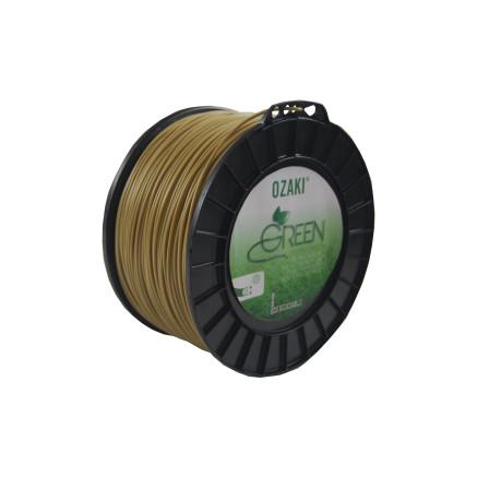 Hilo de nailon 3,00 mm bobina 169 m OZAKI Green redondo