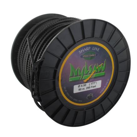 Hilo de nailon 4,50 mm bobina 90 m SPEED GROUP Nylsaw dentado