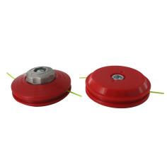 Cabezal de nailon PRO  + Adaptador F M10X1.25 IZQ.