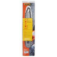 """Kit de espada y cadena 1702150  35 cm (14"""") ZA 3/8"""" LP .050"""" - 1,3 mm 52E OKAZI Pro-Steel"""