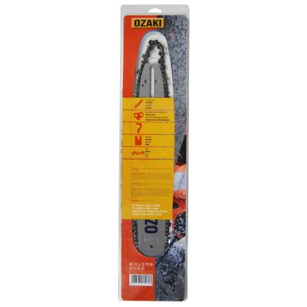 "Kit espada y cadena motosierra OZAKI 30 cm (12"") ZA 3/8"" LP .050""-1,3 mm 45E"