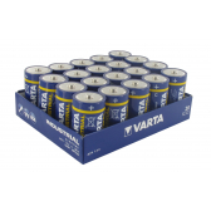 Pack 20 pilas VARTA industrial 1,5 V tipo C LR14