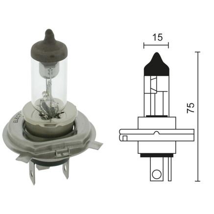 BOMBILLA H4 12V 60/55W 280-5657 (FM947411)