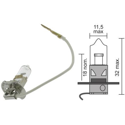 BOMBILLA IODE H3 12V 100W (FM947753)