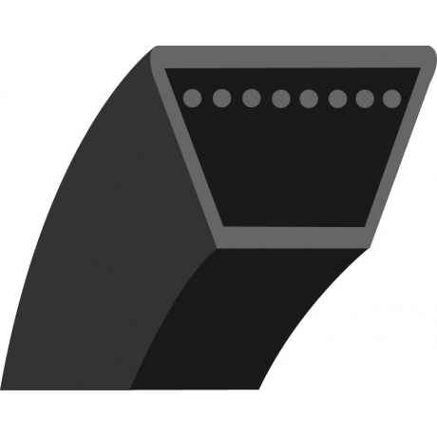 Correa trapezoidal (F1703) MTD 754-0293