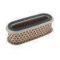 Filtro de aire oval para KUBOTA 12314/11200