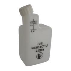 Botella de plástico para mezclas de aceite 2T
