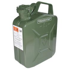 Bidón de acero verde US 5L
