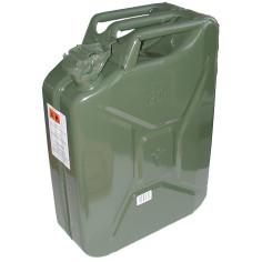 Bidón de acero verde US 10L
