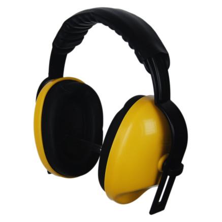 Protectores auditivos con correa a la mano