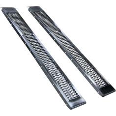 Conjunto de 2 rampas rectas de acero 450 Kg/par