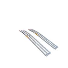 Conjunto de 2 rampas curvadas de aluminio 680 Kg/par