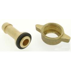 Racord 10 mm con tornillo