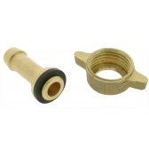 Racord 8 mm con tornillo
