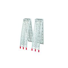 Conjunto de 2 rampas plegables de aluminio 600 Kg/par