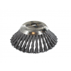 Cabezal de cepillo metálico para desbrozadoras