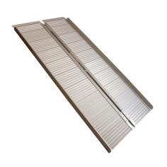 Rampa de acceso para minusválidos plegable de aluminio 454 Kg