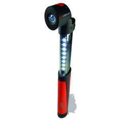 9200025 Linterna de trabajo LED extensible SCHUMACHER SL25 15-100 Lumens