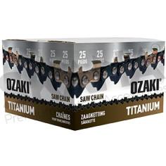 """Cadena motosierra OZAKI Titanium 3/8"""" LP .050""""-1,3 mm 7,62 m"""