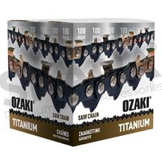 """Cadena motosierra OZAKI Titanium 3/8"""" LP .050""""-1,3 mm 30,48 m"""