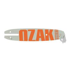 """Espada OZAKI longitud 10 """"- 25 cm Montaje Paso C 3 / 8LP .050 (1,3mm) Apto para RYOBI Reemplaza original OREGON 573069."""