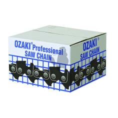 """Cadena ZK5599BL25P 3/8"""" .050""""-1,3 mm con anti-rebote 7,62 m OZAKI"""