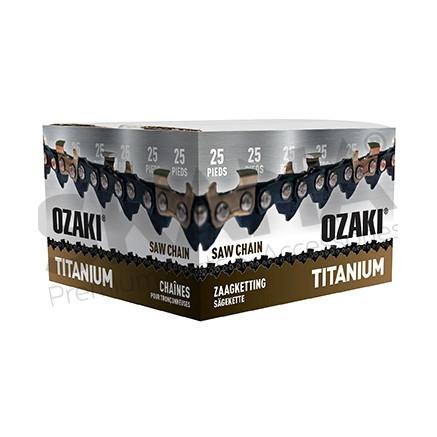 "Cadena motosierra OZAKI Titanium .325"" .058""-1,5 mm 30,48 m"
