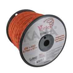 Hilo de nailon 2,70 mm bobina 167 m DESERT Vortex ALU trenzado