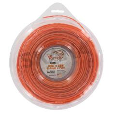 Hilo de nailon 2,40 mm bobina 70 m DESERT Vortex ALU trenzado