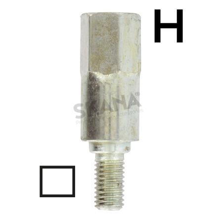 Adaptador cuadrado 5,4 mm