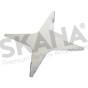 Cuchilla cortacésped adaptable WIPER plana DIA 35CM AMB Y WIP