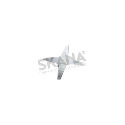 Cuchilla cortacésped adaptable WIPER PLANA DIA 24CM AMB Y WIPER