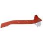 Cuchilla cortacésped adaptable 356 mm