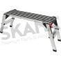 Escalón de aluminio plegable