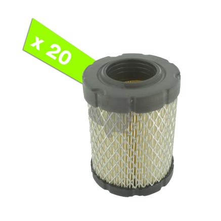 Filtro de aire (pack de 20) para BRIGGS & STRATTON